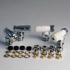 Zestaw IRSAP - termostatyczny kątowy GW