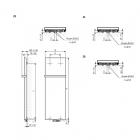 Case Slim 1360 x 620 z betonowym frontem